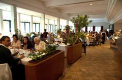 Der Restaurant-Bereich mit seinen über 100 Plätzen